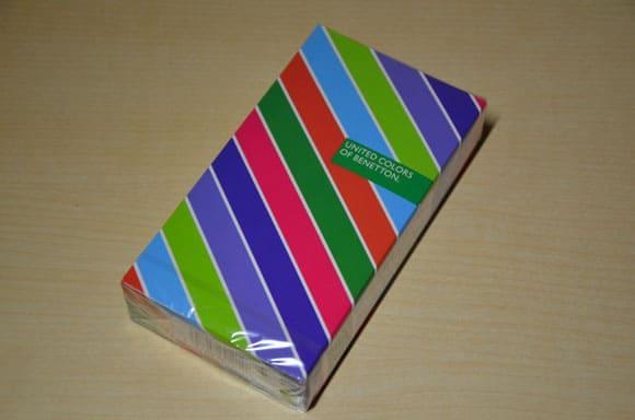 オカモト「ベネトン1000-X」のパッケージ表面