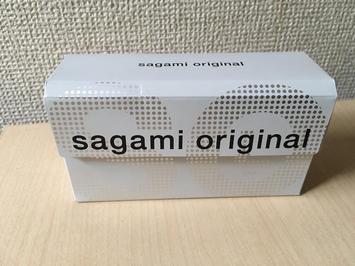 サガミオリジナル0.02mm(Lサイズ)のパッケージ表面