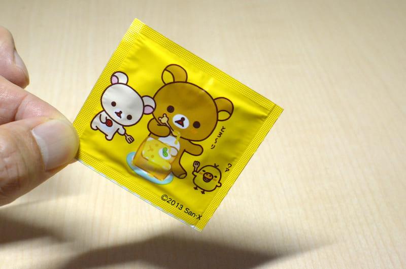 リラックマ コンドームほっとの個包装