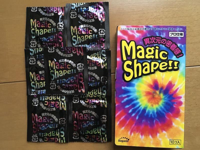 マジックシェイプのパッケージと個包装