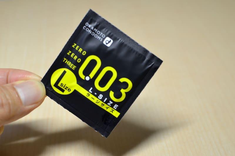 オカモト003(ゼロゼロスリー)Lサイズの個包装
