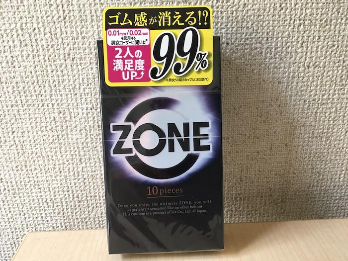 ZONE(ゾーン)のパッケージ
