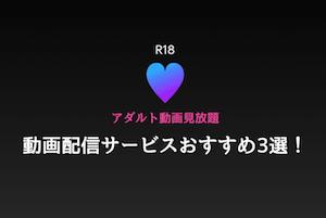 見放題アダルト動画配信サービス