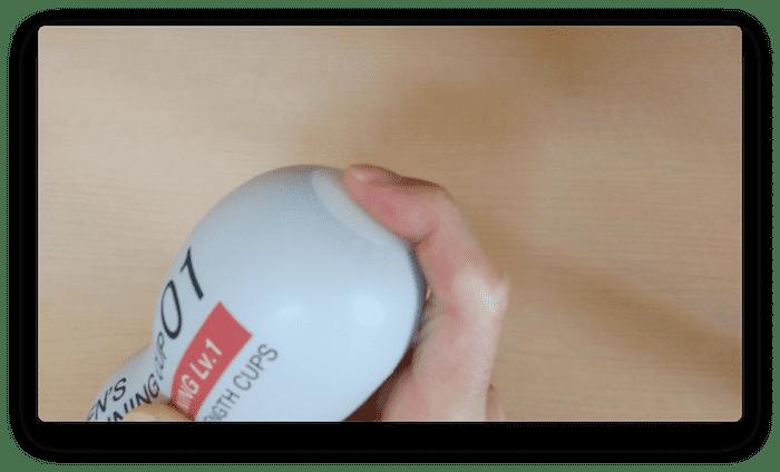 テンガ「メンズトレーニングカップ」Lev.1の使い方➉