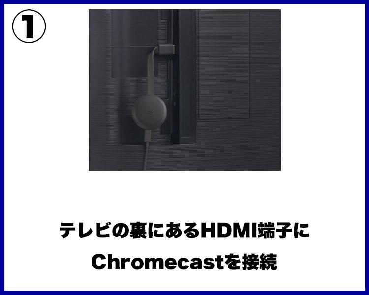 ゲオTVをChromecastで見る方法①