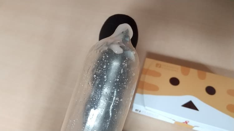 コンドーム ニャンボーVer.の潤滑ゼリー