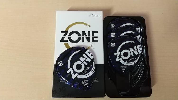 ZONEプレミアムのパッケージと個包装